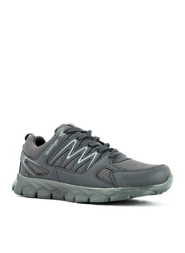 Slazenger Slazenger Krom  Sneaker Erkek Ayakkabı  Gri
